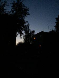 Ночной снимок без коррекции