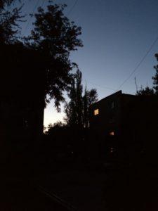 Ночной снимок с коррекцией