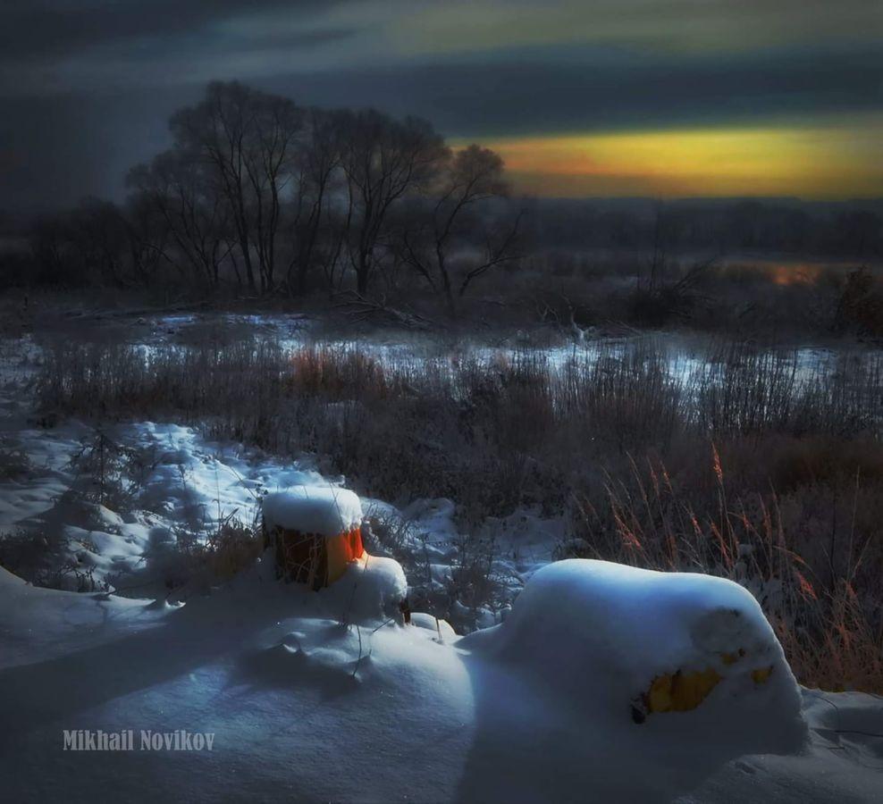 M.Novikov Zimnii vecher